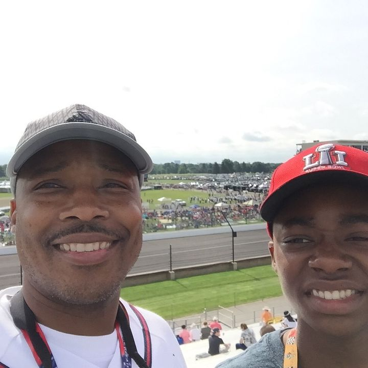 Fans at IMS